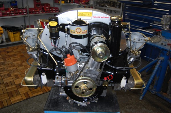 Boxer Engine Designed By Porsche